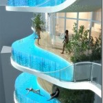 Dare you swim in pool balconies like this?