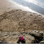 Beautiful beach drawings