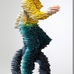 3D sculptures made out of PVC pipes