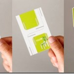 Unique and creative folded business cards