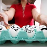 Interesting egg art  – Eggventures of Eggbert