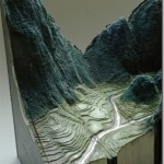 Amazing landscapes created out of old books