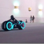 Electric version of TRON motorcycle
