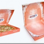 Creative pizza box with a good appetite