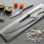 Elegant and beautiful nesting knives for modern kitchen