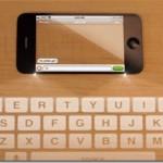 Beautiful transparent iPhone of future generations