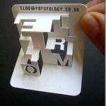 Impressive 3D business cards