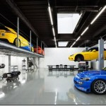 Modern Speedshop Type One garage