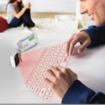 Putting the future at fingertips with keychain laser projection virtual keyboard