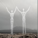 Beautiful electricity towers design