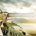 Stunning cantilevered wine museum in Lavaux by Mauro Turin Architectes