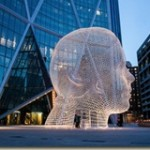 The palace for your dreams – Giant head sculpture