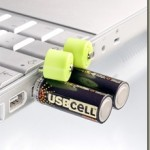 Eco-friendly rechargeable batteries through standard USB port