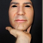 Amazingly realistic human face masks