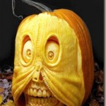 Awesome 3D Halloween Pumpkin Carvings