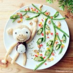 Adorable and beautiful food art for children