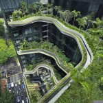 Green Architecture Design – City Garden Parkroyal Hotel In Sigapore