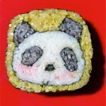 Delicious sushi art