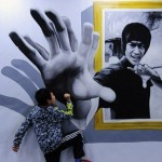 Funny exhibition of 3D interactive art in China