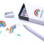 Beautiful rainbow pencils