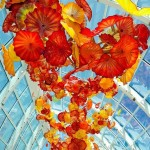 Beautiful Glass Sculpture Garden By Artist Dale Chihuly
