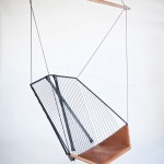 Comfortable and elegance hanging chair designed by Les Ateliers Guyon
