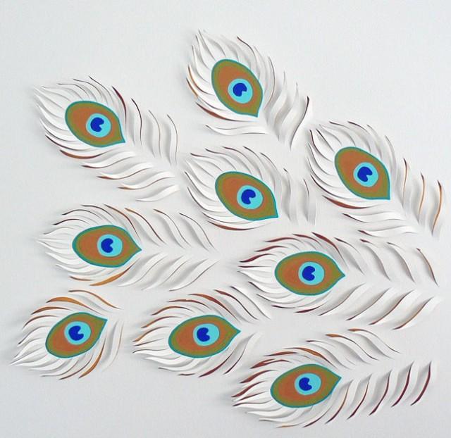Exquisite handicraft of paper cut art for Beautiful paper cutting art