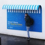 Creative outdoor advertising by IBM and Ogilvy & Mather France