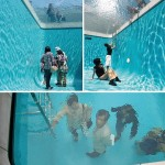 Amazing art installation – Fake swimming pool