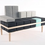 Modern Sofa Inspired by Tetris