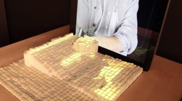 new-tech-impressive-Interacting-device-Dynamic-Shape-Display (1)