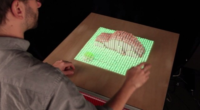 new-tech-impressive-Interacting-device-Dynamic-Shape-Display