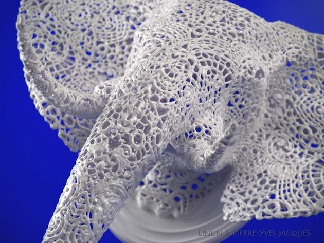 3D-printing-techniques-Lace-animal-sculptures (12)