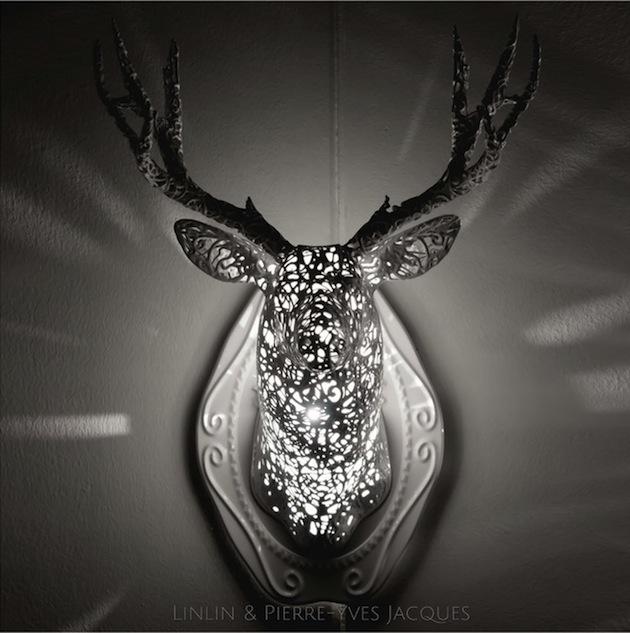 3D-printing-techniques-Lace-animal-sculptures