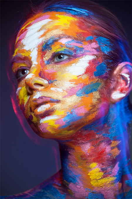 amazing-cool-art-models-faces-2D-oil-paintings (7)