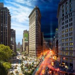 Day To Night – 24 hours of New York City in one picture