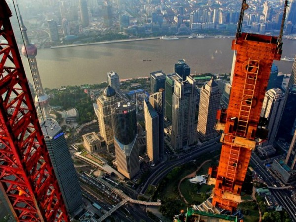 amazing-stunning-beautiful-aerial-photos-Shanghai-skyline (2)