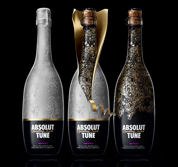 beautiful-eye-catching-Absolut-Tune-vodka-wine-packaging-design