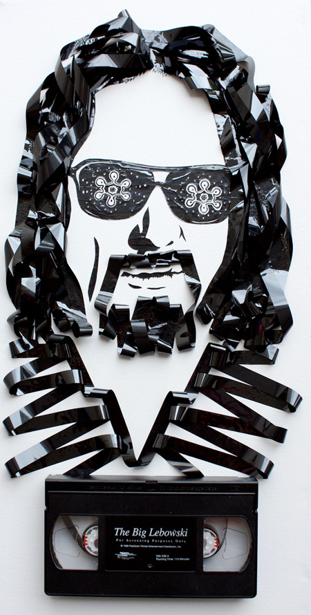cool-awesome-work-of-art-recycled-tapes-people-face-portraits (4)
