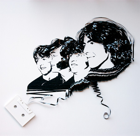 cool-awesome-work-of-art-recycled-tapes-people-face-portraits (8)
