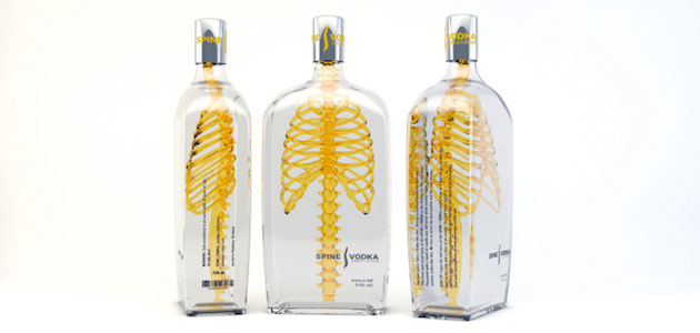 Eye-catching concept design for Vodka