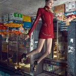 Fashion photography – Upside Down Fashion Models