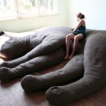 Comfortable cat shaped sofa