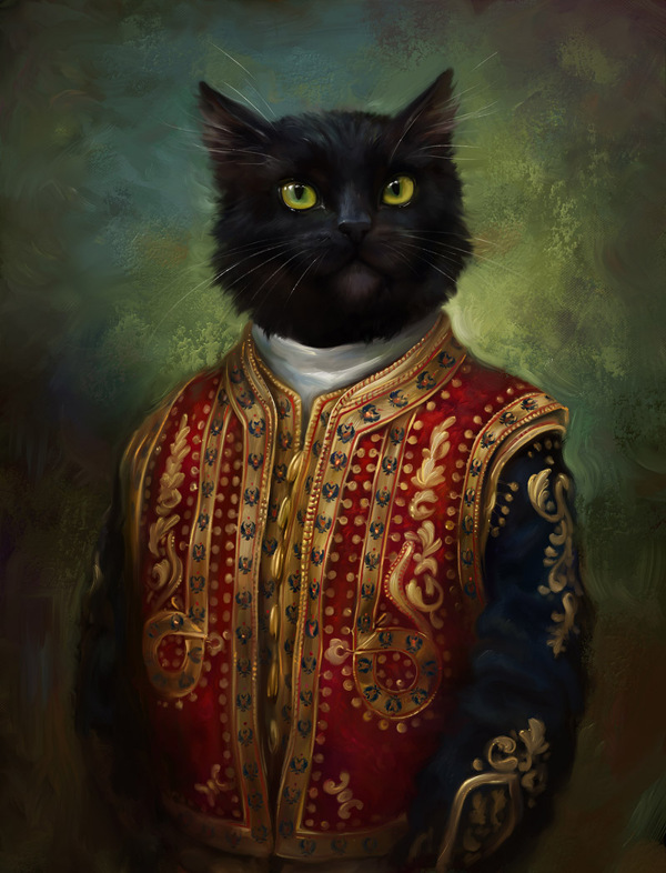 creative-funny-interesting-royal-cats-portraits-pictures (1)