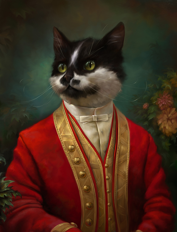 creative-funny-interesting-royal-cats-portraits-pictures (2)