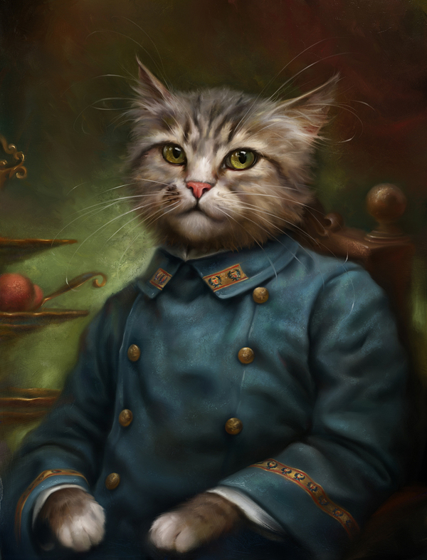 creative-funny-interesting-royal-cats-portraits-pictures (3)