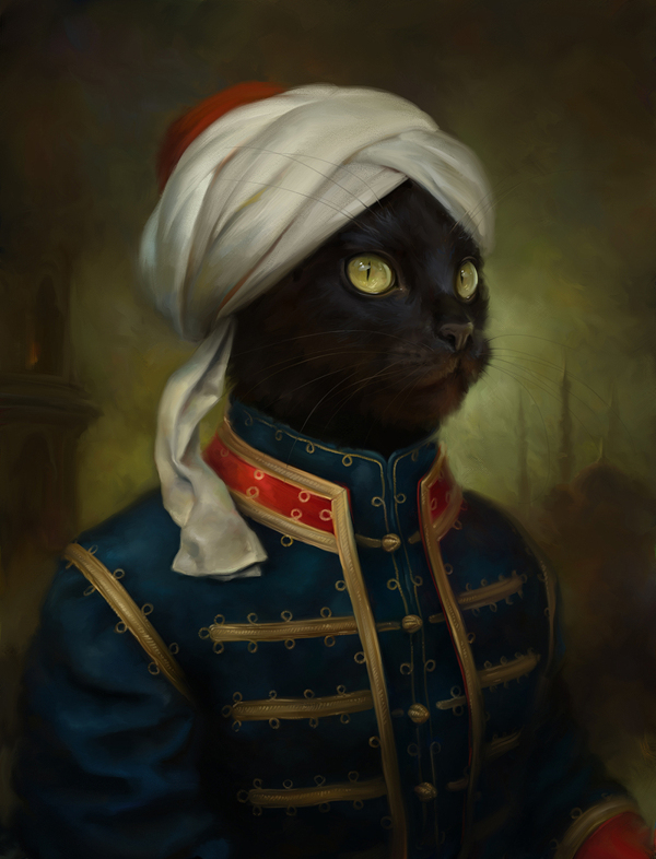creative-funny-interesting-royal-cats-portraits-pictures (4)