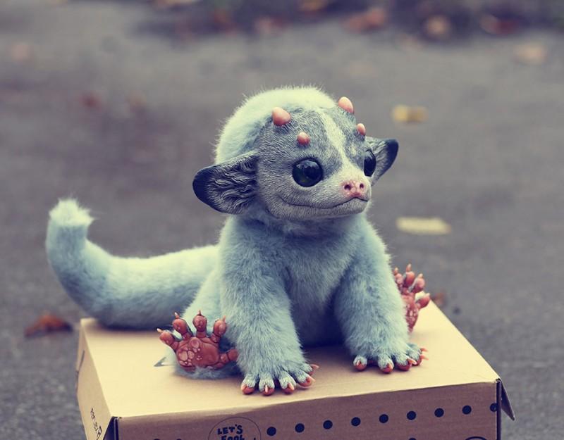 cute-fantasy-creepy-animal-anime-creatures-dolls-sculptures (1)