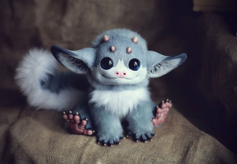 cute-fantasy-creepy-animal-anime-creatures-dolls-sculptures (11)