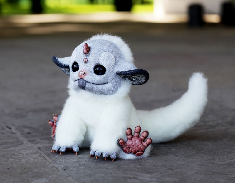 cute-fantasy-creepy-animal-anime-creatures-dolls-sculptures (12)